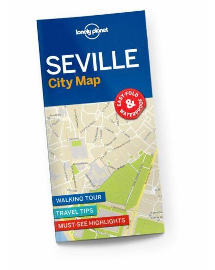 Sevilla térkép (laminált)