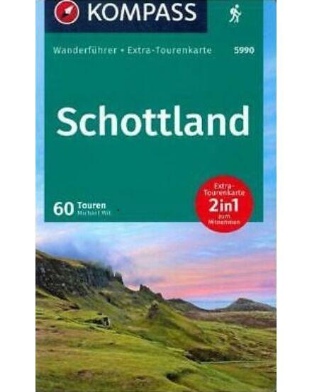 K 5990 Skócia - tengerparti és felföldi túratérkép 1:50 000