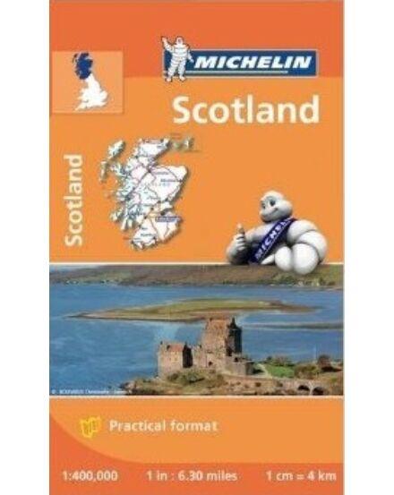 Skócia térkép Michelin