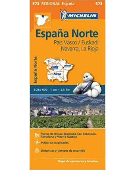 Spanyolo. régiótkp.- Pais Vasco, Euskadi, Navarra, La Rioja 0573