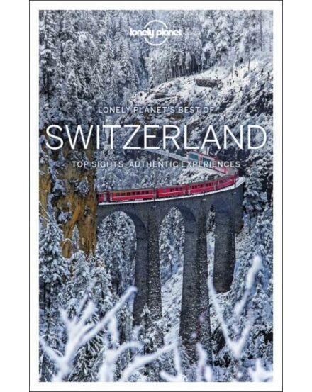 Svájc Best of útikönyv (angol) Lonely Planet