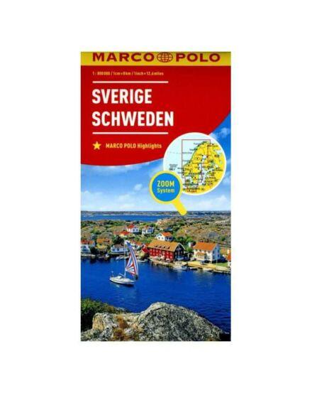 Cartographia  - Svédország térkép