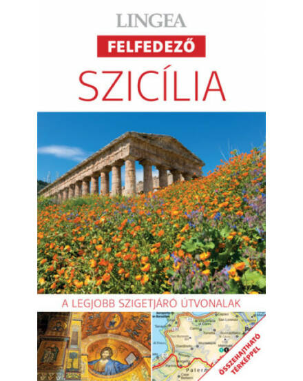 Szicília felfedező útikönyv + tkp
