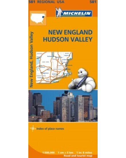 USA régiótkp.- New-England, Hudson öböl 0581