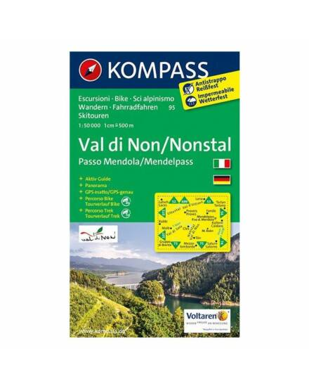 K 95 Val di Non / Passo Mendola ttkp.1:50 000