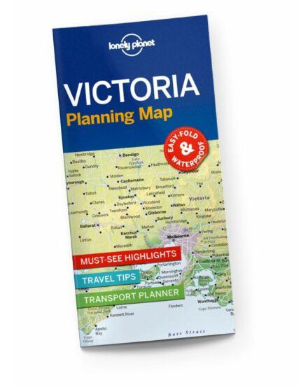 9781788686112  Victoria útvonaltervező térkép Lonely Cartographia