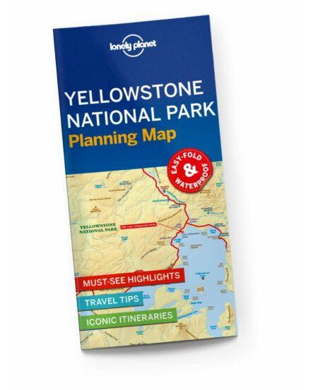 Cartographia - Yellowstone Nemzeti Park térkép Lonely Planet