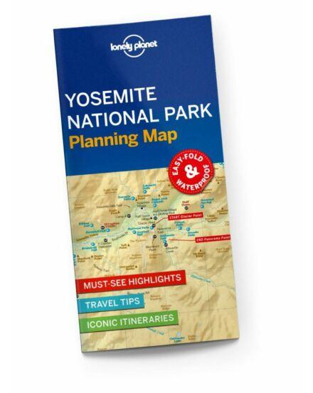 Yosemite National Park térkép