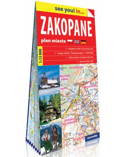 Cartographia  - Zakopane várostérkép