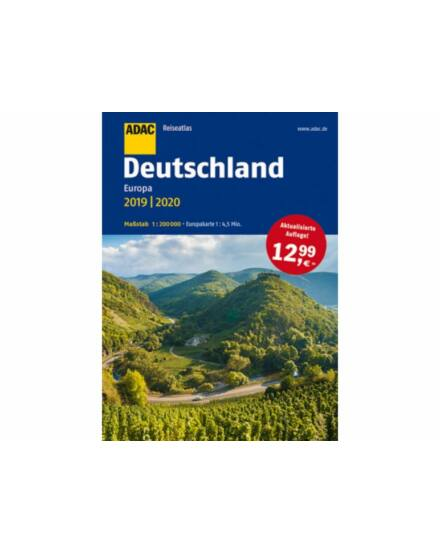 Cartographia  - Németország Reise Atlasz 2019/20