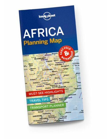 9781788685894 Afrika útvonaltervező térkép Lonely Cartographia