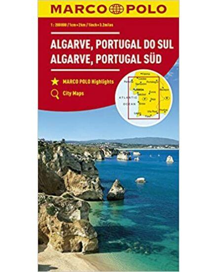 9783829739900 Cartographia  Algarve, Dél-Portugália térkép Marco Polo