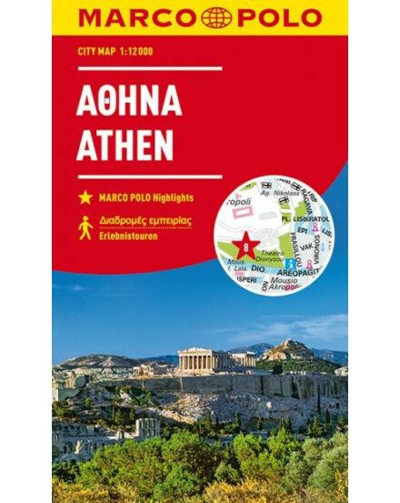 9783829741514 Athén várostérkép Marco Polo Cartographia