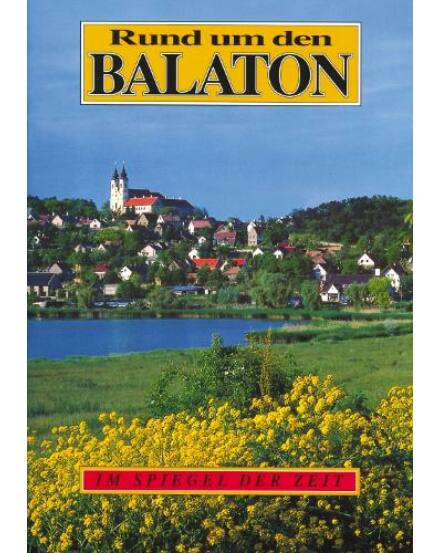 9789631358490 Balaton és vidéke útikönyv német Corvina Cartographia