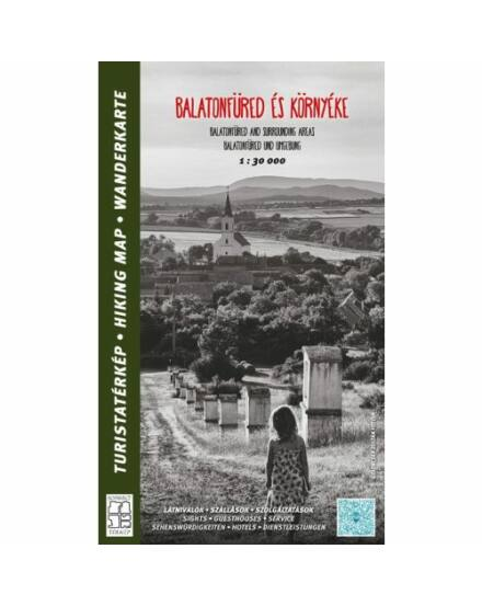 Balatonfüred és környéke turistatérkép Cartographia 9789631294156