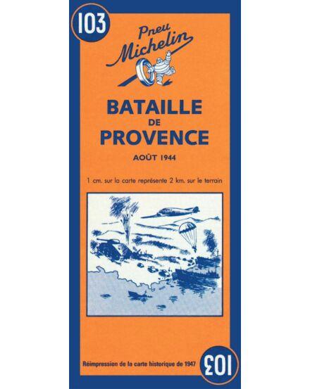 Provence-i csata ( Battle of Provence 1944 ) történelmi tkp.