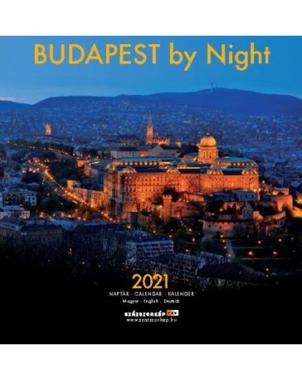 Cartographia  - Budapest by Night falinaptár 2021 5999550448972