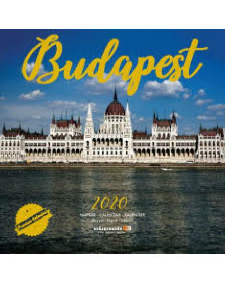 Cartographia  - Budapest falinaptár 2019