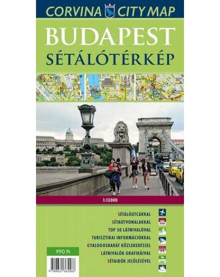 Cartographia  - Budapest sétálótérkép
