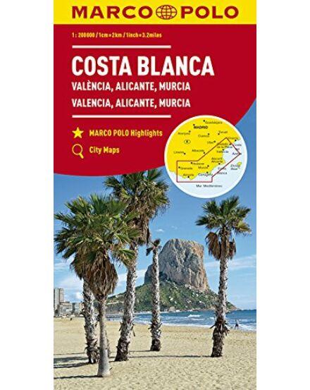 Cartographia  - Costa Blanca, Valencia, Granada térkép