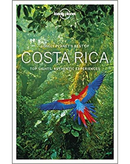 9781786572677 Costa Rica Best of útikönyv (angol) Lonely Cartographia