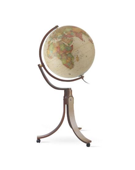 Földgömb Emily Antique 50 cm - világító, álló