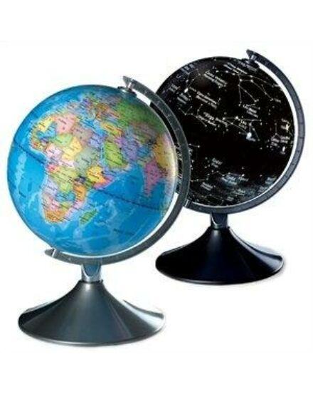Cartographia  - Földgömb - Föld és Csillagkép 2 az 1-ben - gyerekeknek