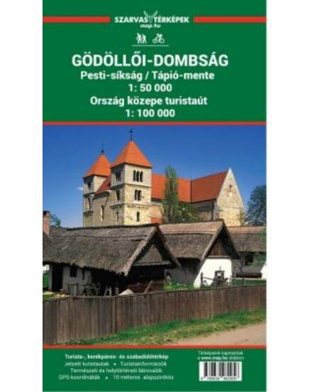 Cartographia  - Gödöllői-dombság turistatérkép