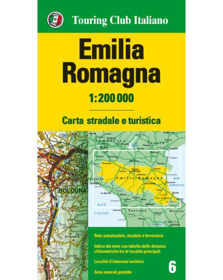 Cartographia  - Emilia Romagna régiótérkép