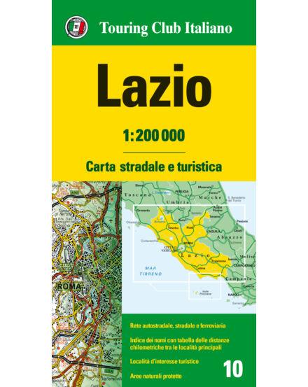Cartographia  - Lazio régiótérkép