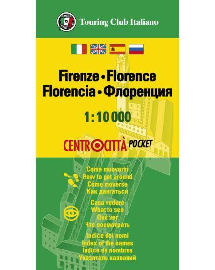 Cartographia  - Firenze várostérkép mini