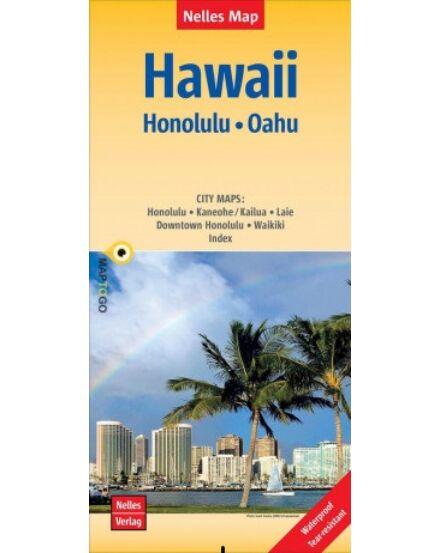 Hawaii - Honolulu, Oahu térkép