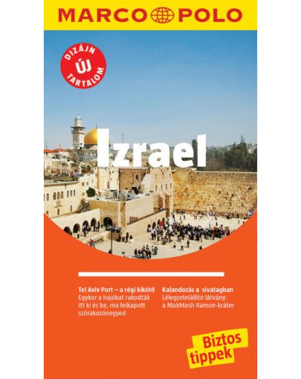 Izrael útikönyv Marco Polo