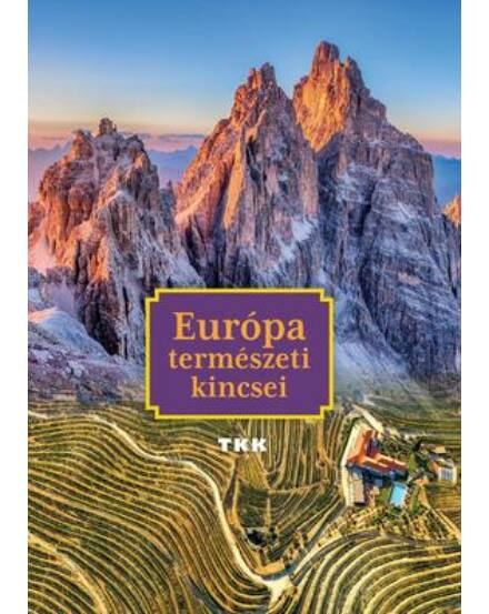 9789635101047 Cartographia Európa természeti kincsei album