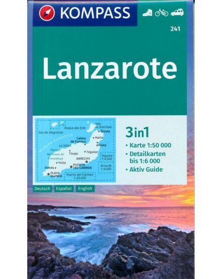 Cartographia  - K 241 Lanzarote turistatérkép