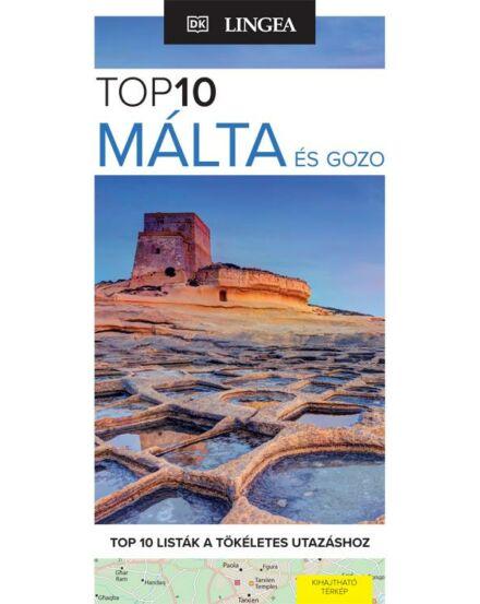 9789635050413 Málta és Gozo útikönyv (TOP 10) Lingea Cartographia