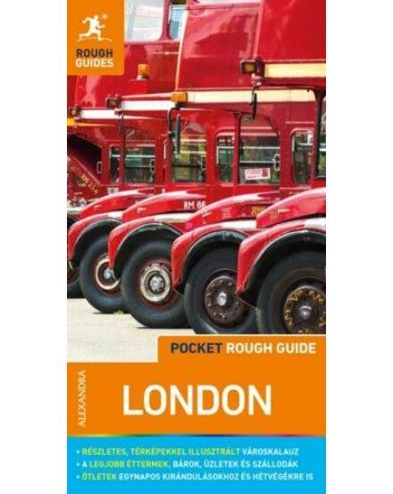 London (Pocket Rough Guides) útikönyv térképmelléklettel Cartographia 9789634472063