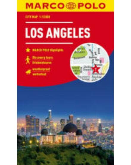 9783829741736 Los Angeles várostérkép Marco Polo Cartographia