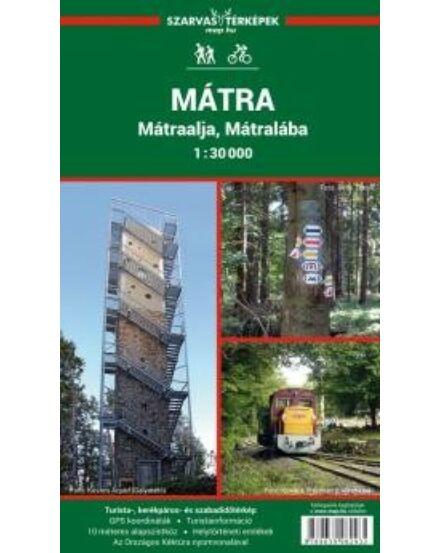 Cartographia  - Mátra, Mátraalja turistatérkép