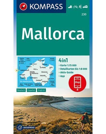 K 230GB Mallorca turistatérkép