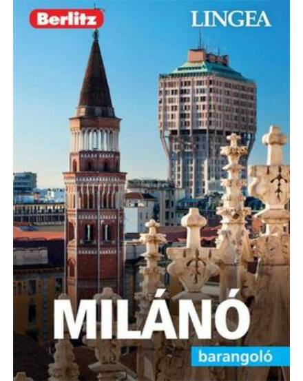 Cartographia  - Milánó barangoló útikönyv (Berlitz) Lingea