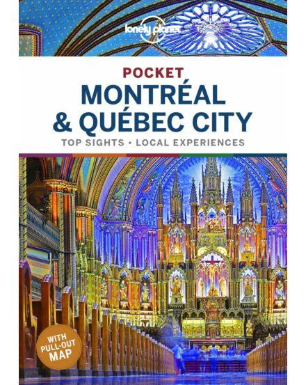 9781788683371 Montréal és Québec City Pocket útikönyv (angol) Lonely Cartographia