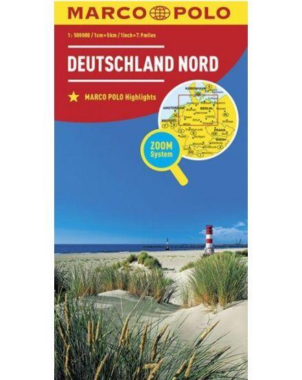 Németország résztérkép 1:500e. - Németország-Észak