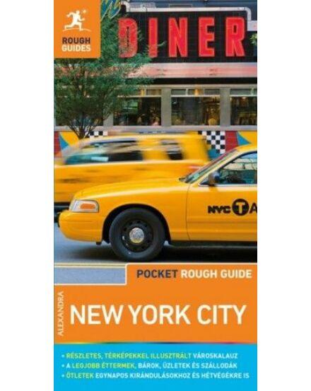 New York (Pocket Rough Guides) útikönyv térképmelléklettel Cartographia 9789634472070