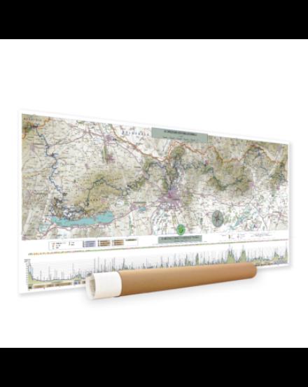 Cartographia OKT térkép (1:450 000) papírdobozban