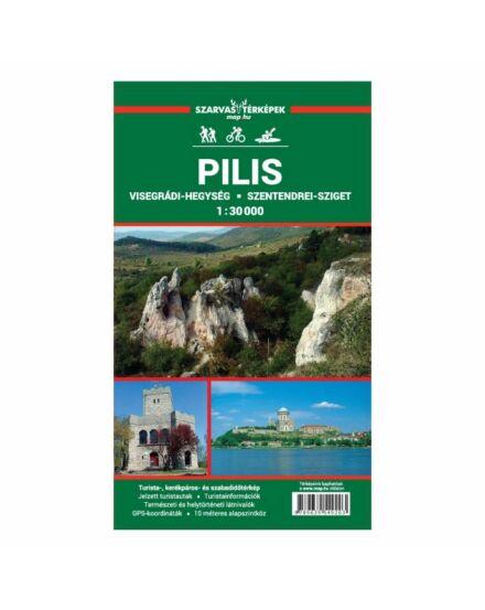 Cartographia  - Pilis, Visegrádi-hegység turistatérkép