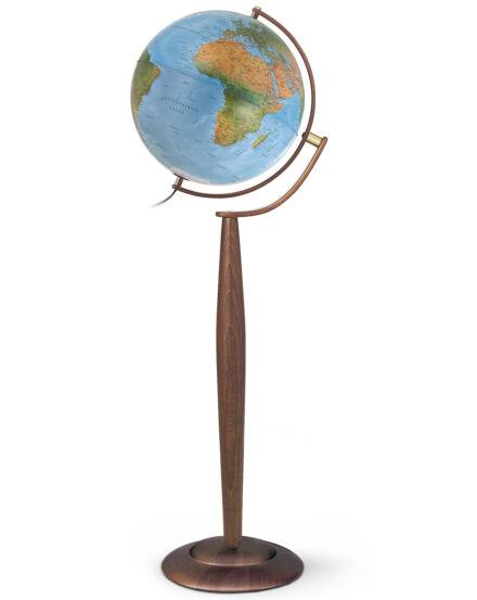 Földgömb Sylvia Blue  37 cm - duó, világító, álló