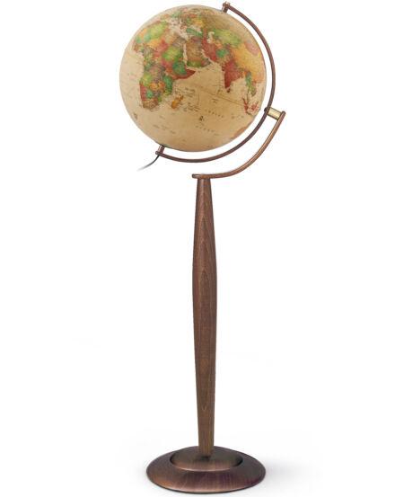 Földgömb Sylvia Antique  37 cm - duó, világító, álló, antik