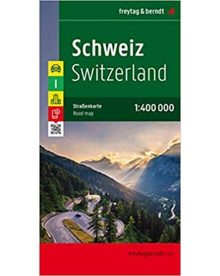 Svájc térkép
