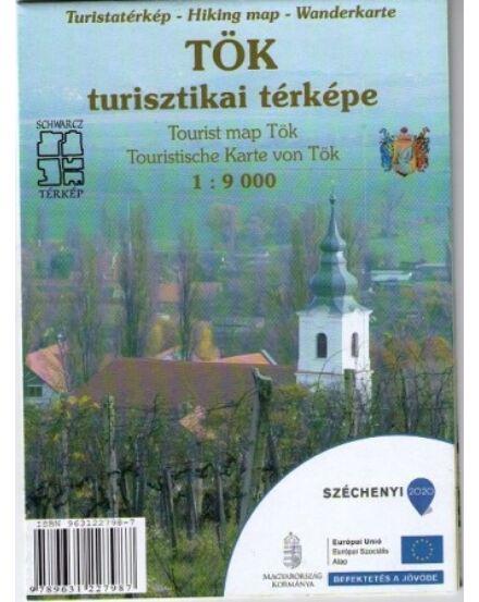 Tök turisztikai térképe Cartographia 9789631227987